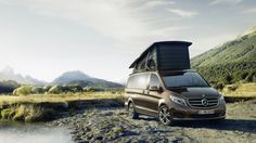 Earlier this year, Mercedes-Benz revealed the new V-Class. Slotting in below the popular Sprinter, the new V-Class replaced both the Viano and Vito upon its debut at the Geneva Motor Show. But Mercedes isn't quite done with it just yet. At the upcoming Caravan Salon in Düsseldorf, Germany, Mercedes will reveal the Marco Polo - a versatile, stylish and decidedly contemporary take on the classic camper van.
