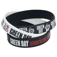 "Set di bracciali ""American Idiot"" dei #GreenDay."