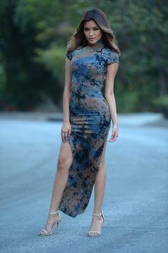 Far Out Dress - Teal | Fashion Nova ༺slOfPc༻
