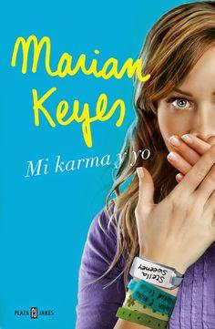 """Almudena Avilés Martínez reseña """"Mi karma y yo"""", de Marian Keyes. """"Una historia conclusa e independiente, que pese a no estar a la altura de las anteriores obras de la autora, sigue siendo entretenida y entrañable, con ese toque tan dinámico que la escritora irlandesa da a su prosa"""". http://www.mardetinta.com/libro/mi-karma-y-yo/ ED. PLAZA&JANÉS"""