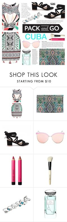 """""""Yoins #2"""" by tasnime-ben ❤ liked on Polyvore featuring Anja, Quay, Bobbi Brown Cosmetics, By Terry, Packandgo, cuba, yoins and yoinscollection"""