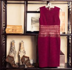 """""""I've saved old Alaïa pieces from when I used to do his show and he used to pay us in clothes, or CHANEL, so those are in a separate closet—more like an archival closet that I'm keeping for my daughter."""" http://www.thecoveteur.com/cindy-crawford/"""