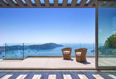 Panoramic without end! #VillefrancheSurMer  Facing the Natural harbour, with a panoramic sea view, on a land of 680 sqm, contemporary villa of 300 sqm totally renewed with beautiful services. A largeliving room of more than 80 sqm with open-plan kitchen leads onto a terrace, five bedrooms, five bathrooms, independent WC.  Pool house with http://aiximmo.ch/en/listing/panoramic-without-end/  #frenchriviera #cotedazur #mallorca #marbella #sainttropez #sttropez #nice #cannes