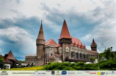Corvin Castle, also known as Corvins' Castle, Hunyad Castle or Hunedoara Castle - in Hunedoara Barcelona Cathedral, Castles, Mansions, House Styles, Building, Manor Houses, Palaces, Photography, Photograph