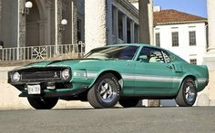 American Muscle Cars… 1970 Mustang Shelby GT500