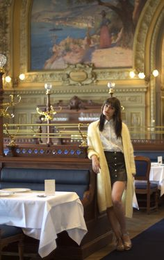 Fi with Clara Luciani - Fête Impériale  Letrainbleu  trainbleu  knitwear   fashion   d1954f002d0