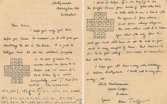 Alan Turing letter on how to win at solitaire sells for - Telegraph Handwriting Samples, Bletchley Park, Museum Education, The Imitation Game, Alan Turing, Cherokee Nation, Little Girl Names, Maths Algebra, Science And Technology