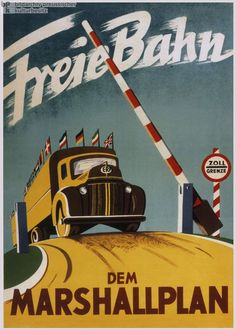 Marshall Plan served as a prelude to the creation of the United Europe that we have today. Only a few years after the Marshall Plan Program; some European countries formed the European Economic Community (EEC) and eventually the European Union was formed. Nazi Propaganda, Political Posters, Soviet Art, Cold War, Vintage Advertisements, Vintage Posters, Poster Size Prints, Photo Puzzle, Photo Wall Art