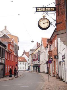 In Odense, Denmark.