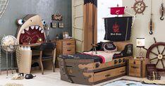 2017 World Camerette Catalogue - Mario Carvajal - Dekoration Nautical Theme Bedrooms, Bedroom Themes, Bedroom Decor, Home Bedroom, Kids Bedroom, Deco Pirate, Kid Beds, Boy Room, Kids Furniture