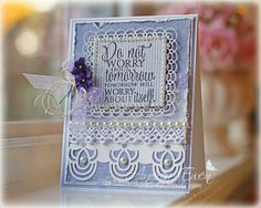 Card by Andrea Ewen using Each Day from Verve Stamps. #vervestamps