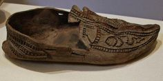 Mediaeval shoe, well preserved in a Leitrim Bog