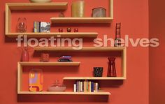 Floating Shelves - Woodworking Projects - American Woodworker