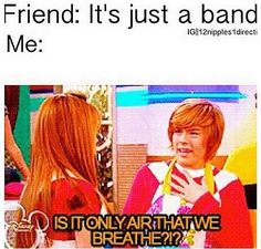 So true. So me with kpop band Magcon, Im5, Zack E Cody, Indie, Hardcore, First Love, My Love, All Family, 1d And 5sos