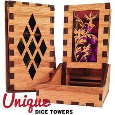 Dice|Dice Towers|Unique Dice Towers