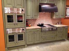 "36"" BlueStar RangeTop and 36"" BlueStar Double Wall Ovens - Traditional - Kitchen - BlueStar"