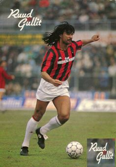 Ruud Gullit, born as Rudi Dil, 1 September 1962 in Amsterdam, is a Dutch football manager and former football player, who played professionally in the 1980s and 1990s. He was the captain of the Netherlands national team that was victorious at Euro 88 and was also a member of the squad for the 1990 World Cup.