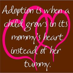 Adopted kids are the best :)