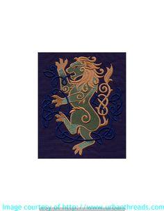 Stickbild Stickemblem Keltisch Kulturen. Wir sticken diese Motiv als Aufnäher oder auf Taschen und Textilien aller Art. Datei von www.urbanthreads.com