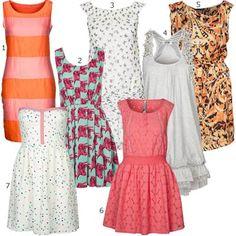 Kurze Sommerkleider