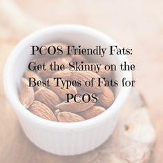 In this awesome article the PCOS dietitian Amy Plano, RD, discusses the most PCOS friendly fats. She tells which ones eat, why to eat them & how to get them in your diet. Pcos, Endometriosis, Registered Dietitian, 100 Calories, Nut Butter, Nutrition Tips, Baking Ingredients, Cookie Dough, Meal Planning
