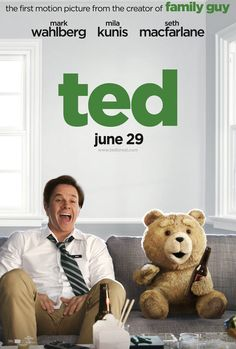 A primary poster from Ted (2012) movie. See the photo (#94309) on Movie Insider.