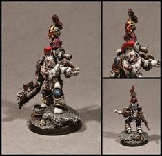 Are you not entertained!? WilhelMiniatures: World Eater Berzerker Squad