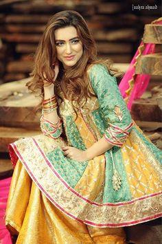 Check Out Zahra Ahmed Luxury Embroidered Silk Collection Replica at Master Replica Pakistan Call/WhatsApp: Pakistani Fashion Casual, Pakistani Wedding Outfits, Pakistani Bridal Wear, Pakistani Dress Design, Pakistani Dresses, Indian Dresses, Pakistani Gharara, Gharara Designs, Dress Designs