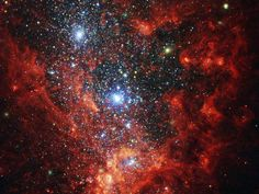 Hubble Images This NASA/ESA Hubble Space Telescope image reveals the iridescent interior of one of the most active galaxies in our local neighborhood — NGC 1569 is currently a hotbed of vigorous star formation. Hubble Pictures, Hubble Images, Andromeda Galaxy, Whirlpool Galaxy, Other Galaxies, Nasa Goddard, Star Formation, Hubble Space Telescope, Telescope Images