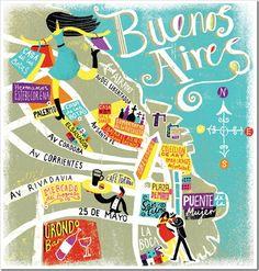 Roteiro de viagem em Buenos Aires.