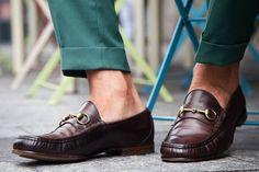 The Gucci Horsebit Loafer Milan Brera district - Gucci Shoes - Ideas of Gucci Shoes - The Gucci Horsebit Loafer Milan Brera district Gucci Shoes, Men's Shoes, Shoe Boots, Dress Shoes, Shoes Style, Loafer Shoes, Penny Loafers, Loafers Men, Jet Set