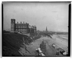 Tynemouth Plaza, built 1878, burned down 1996