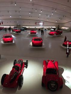 Enzo Ferrari museum Modena, Italy