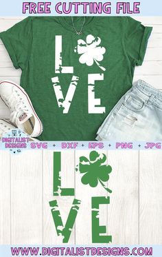 Patrick's Day SVG file! This would be amazing for a variety of DIY St. Patrick's Day craft … St. Patrick's Day Diy, Fun Diy Crafts, Creative Crafts, Pallet Crafts, Wooden Crafts, Kids Crafts, Vinyl Projects, Craft Projects, Silhouette Projects