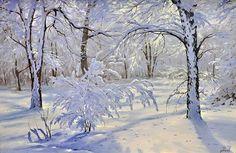 зимний пейзаж – 01