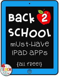 Back to School Must-have iPad Apps