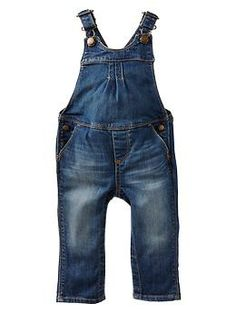 Denim overalls   Gap. Ari would be so cute in these...may have to cop...