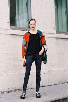 Vanessa Jackman: New York Fashion Week SS 2015....Sasha