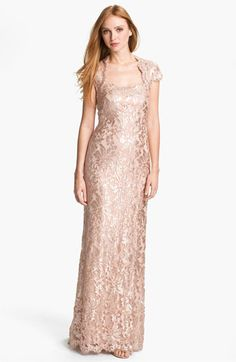gorgeous! but kinda pricey for some---I love a Tadashi dress though (love my blue lace one)  Tadashi Shoji Embellished Lace & Tulle Gown available at Nordstrom
