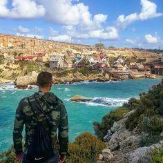 Malta u 3 dana - dan 1 - Popajevo selo i ostrvo Gozo (šta posjetiti? Malta, Travelling, Mountains, World, Nature, Hampers, Malt Beer, Naturaleza, The World