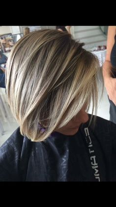 Gorgeous cut and color!