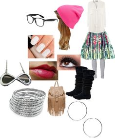 """""""Hipster outfit!"""" by cheekydirectioner ❤ liked on Polyvore"""