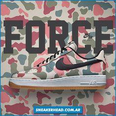 Nike Air Force se viene con el nuevo Pack 'Camo Reflective' y este es uno de los modelos. Qué opinas?  -Vía Sneakerhead Argentina