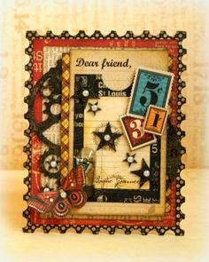 Dear Friend *Imaginarium Design & Graphic 45* - ROMY
