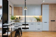 Apartament we Wrocławiu, projekt: Partner Design, fot. Zajaczkowski Photography - Nowoczesny apartament dla singla we Wrocławiu