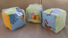 Winnie the Pooh and friends Soft Baby Blocks $12