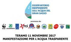 Alla Manifestazione per lacqua anche Art.1 Mdp Abruzzo e  Art.1 Mdp Provincia Teramo