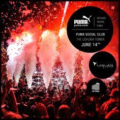 Puma Social Club &  Ushuaïa Tower
