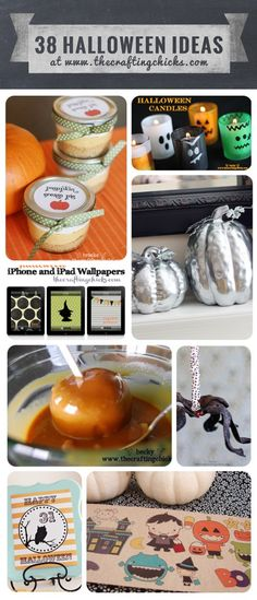 38 Cute Halloween Ideas from thecraftingchicks.com