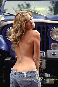Jeep girl ~ Need to have my tops off more often!